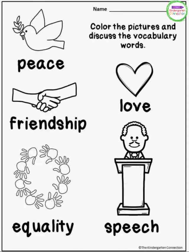 FREE Martin Luther King, Jr. Printables and Read Alouds for