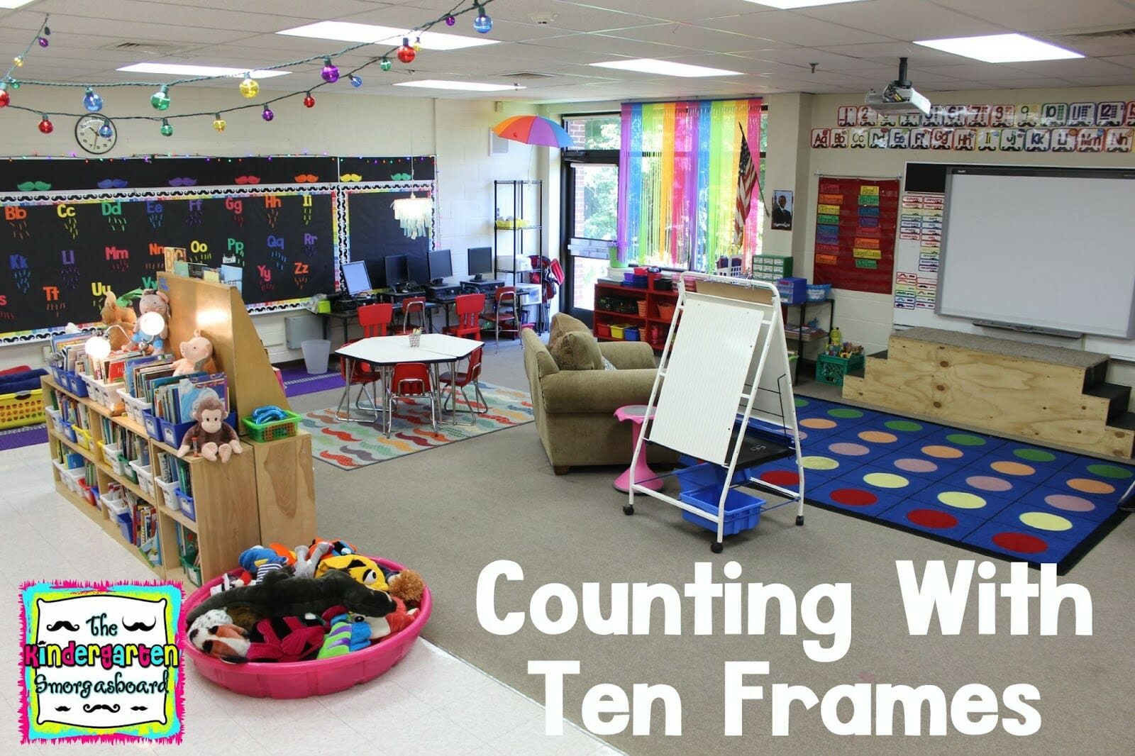 A Kindergarten Smorgasboard Of Counting With Ten Frames