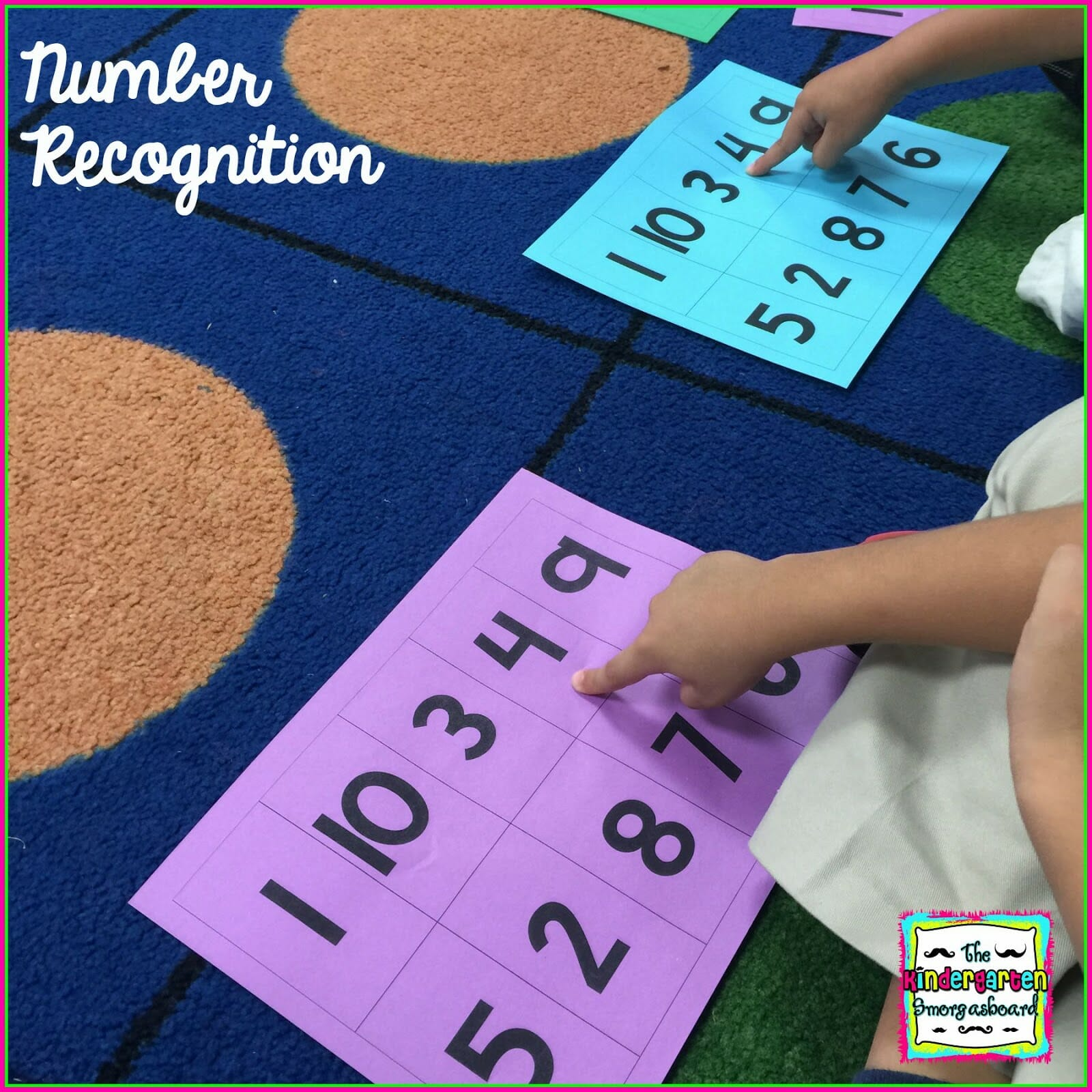 A Kindergarten Smorgasboard Of Easy Number And Counting Assessments