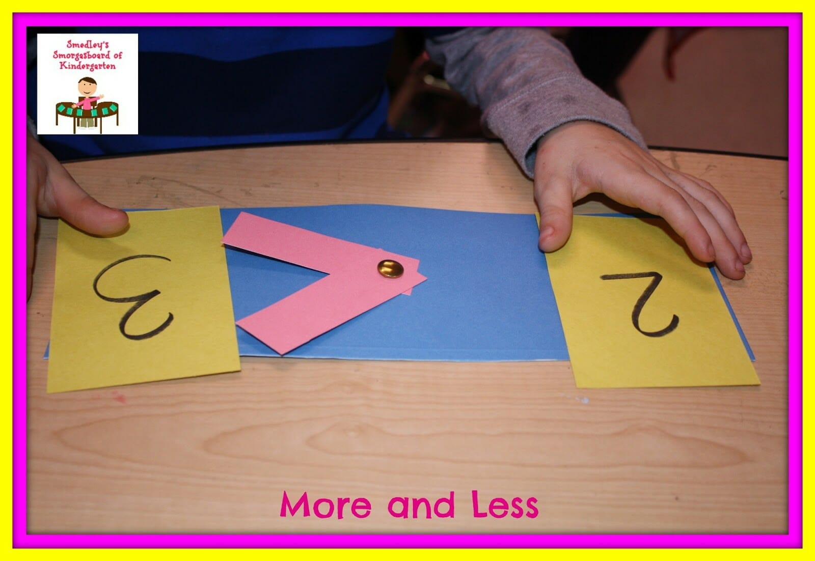 A Kindergarten Smorgasboard Of Greater Than And Less Than