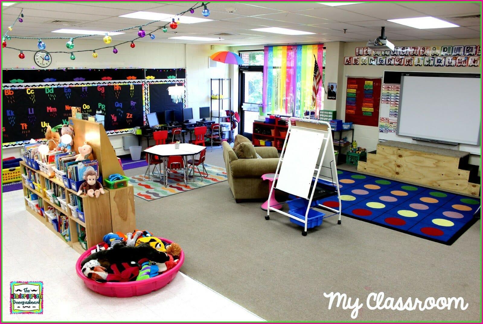 A Kindergarten Smorgasboard Classroom Reveal