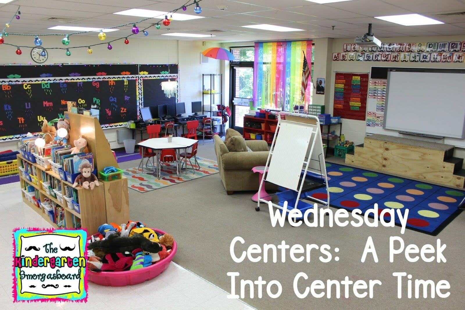 A Kindergarten Smorgasboard Of Wednesday Centers