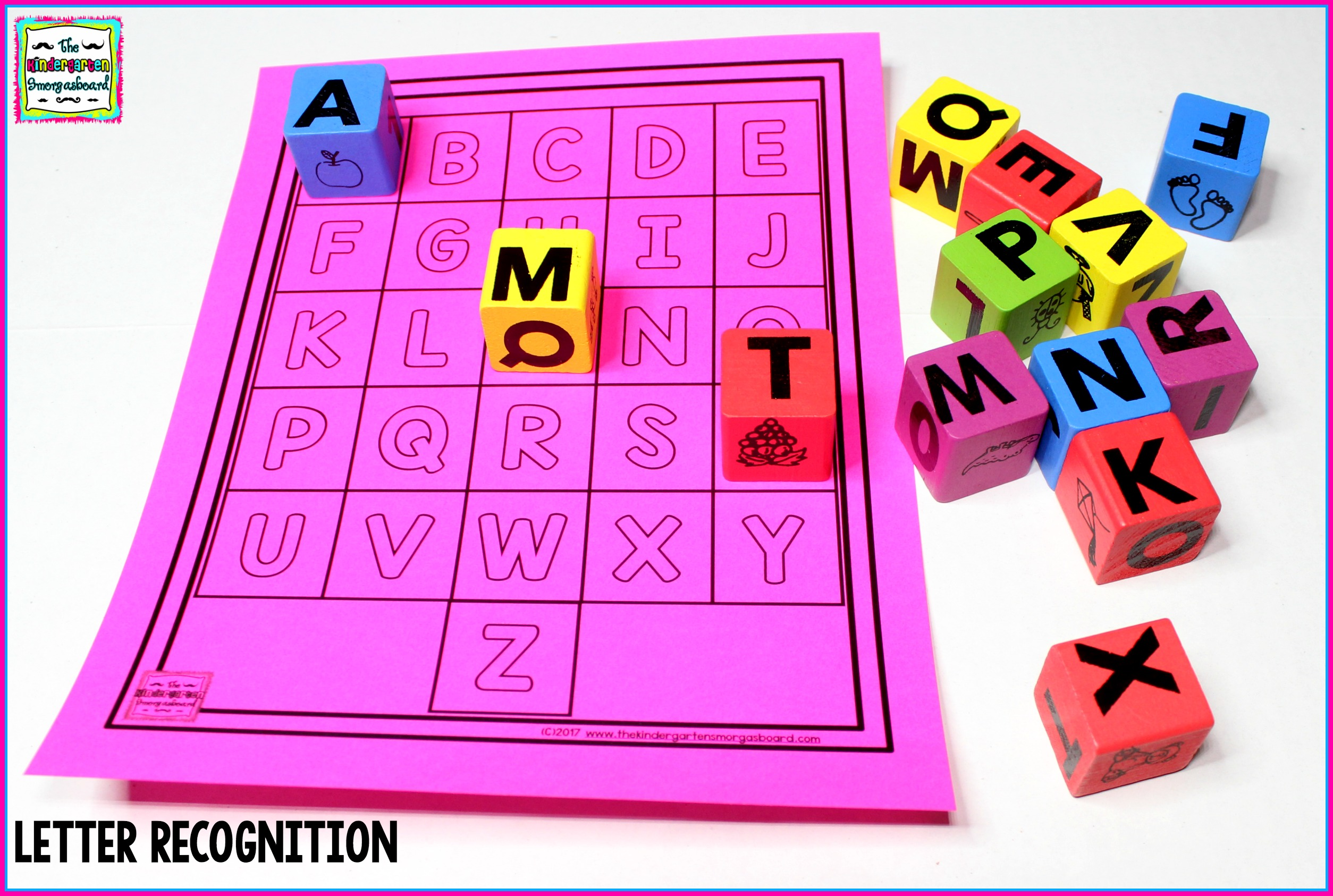 3 Letter Identification Activities
