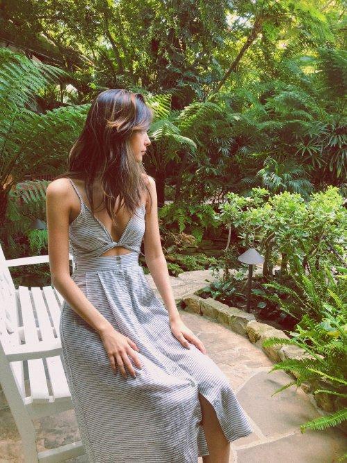Riviera Maxi Sleeveless Dress, $128 @shopsurlacote.com
