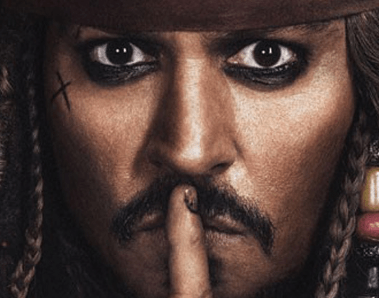 New Posters for 'Pirates of the Caribbean: Dead Men Tell No Tales' Released | Johnny Depp as Jack Sparrow