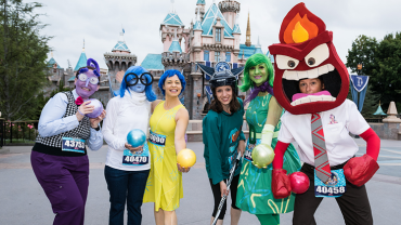 runDisney | 2017 Disneyland Half Marathon | Pixar Character Theme