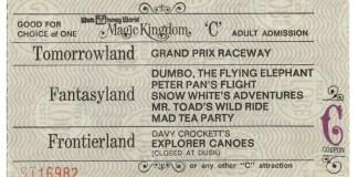 Walt Disney World Ticket Price Increases 2017   Walt Disney World Vintage Tickets