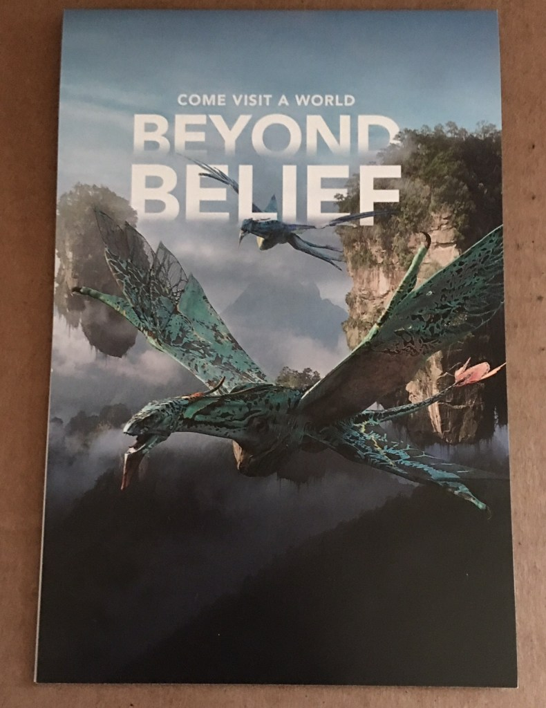 'Pandora - The World of Avatar' Extra Magic Hours Direct Mailers