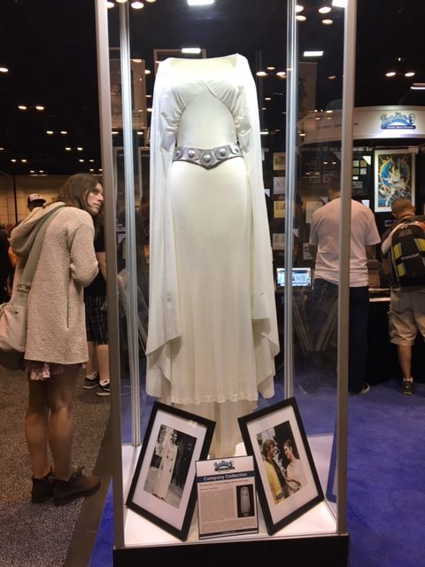 Carrie Fisher's original Princess Leia costume. RIP Carrie.