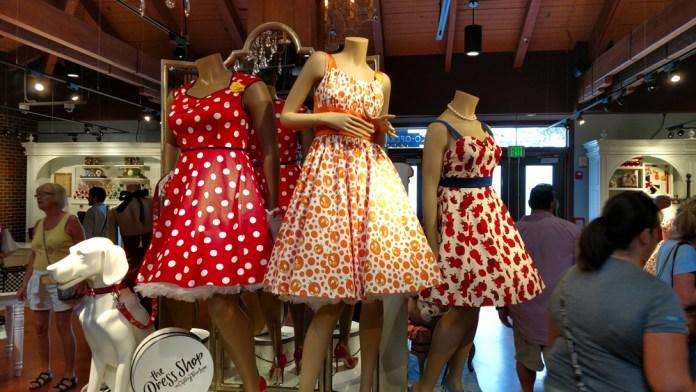 The Dress Shop on Cherry Tree Lane   Disney Springs   Photo: Lance Kibe