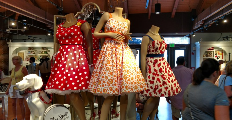 The Dress Shop on Cherry Tree Lane | Disney Springs | Photo: Lance Kibe