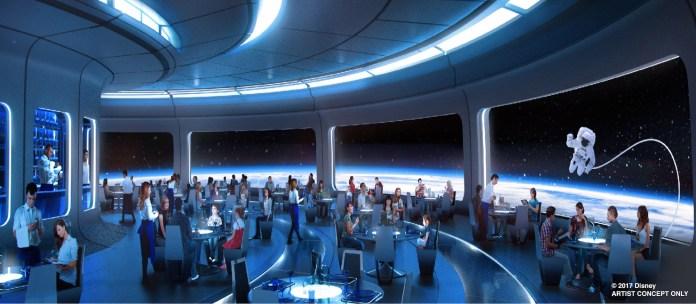 Space-Themed Restaurant