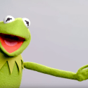 Matt Vogel is Kermit the Frog now.