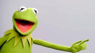 Matt Vogel is Kermit the Frog now.