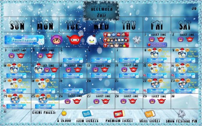 December-2017-Tsum-Tsum-Event-Calendar