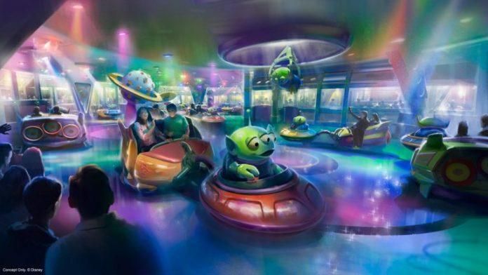 Alien Swirling Saucers at Disney's Hollywood Studios