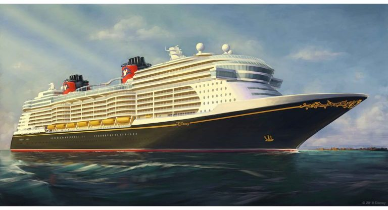 Just Released Disney Cruise Line Shares Artist Rendering Of New - Toy disney cruise ship