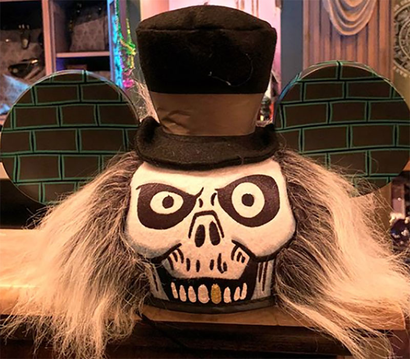 New Hatbox Ghost Mouse Ears and other Haunted Mansion Headbands