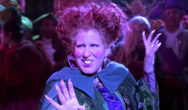 Bette Midler Will Be Part of The Hocus Pocus 25th Anniversary Special on Freeform