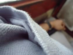 Textures: my favorite gray shirt