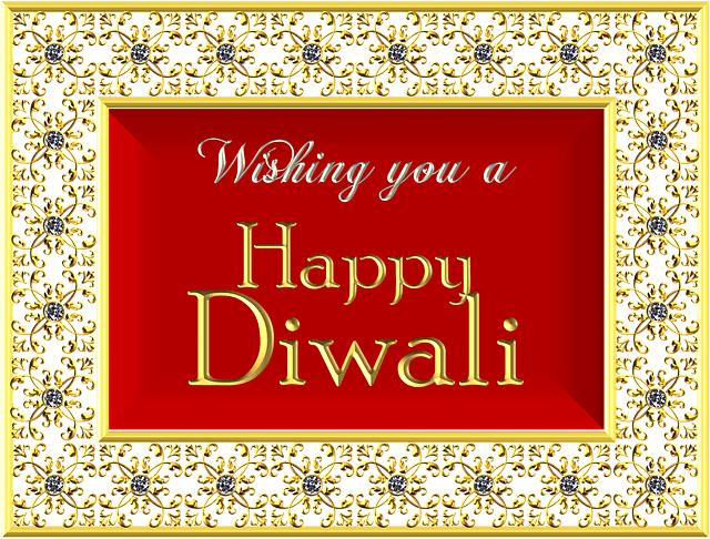 wishing a happy diwali