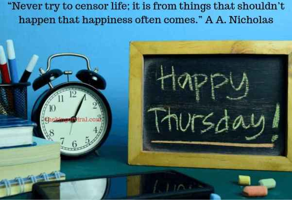 happy thursday images with quotes