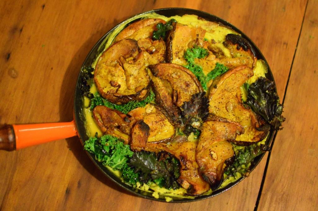 Pumpkin, Kale and Preserved Lemon Frittata
