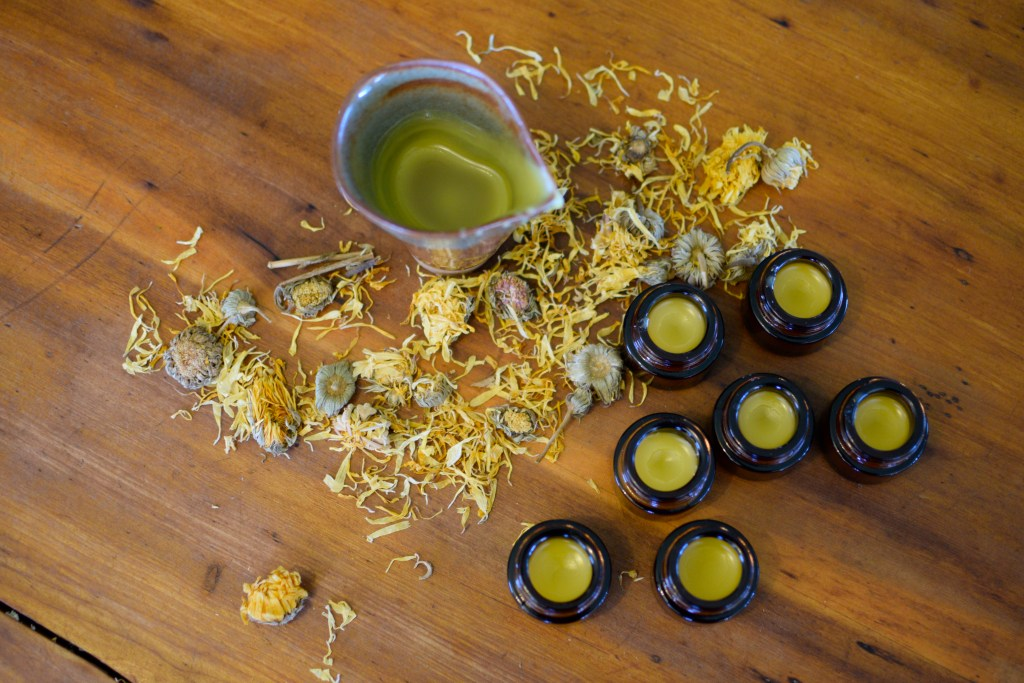Honey Calendula Lip Balm