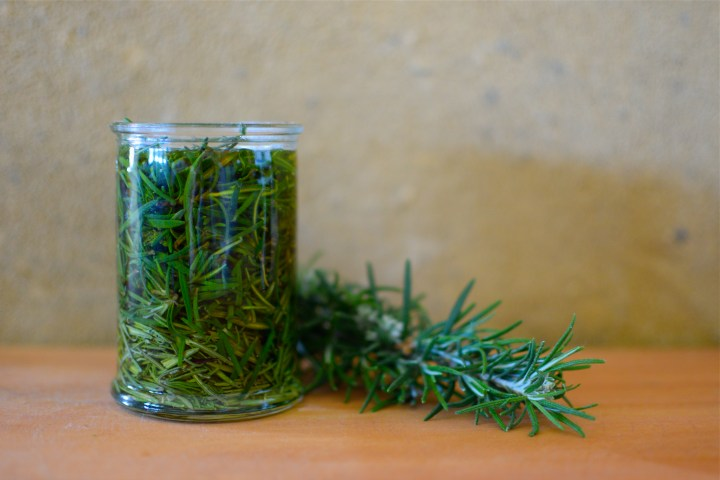 Rosemary Cold Infused Oil