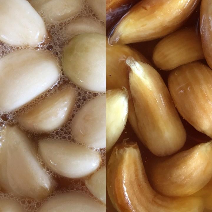Honey Fermented Garlic