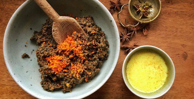 Sticky Turmeric Chai Tea