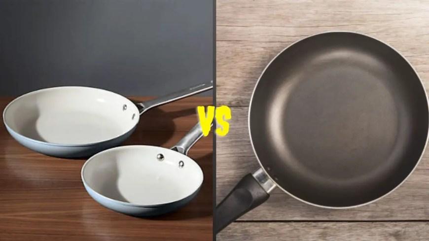 Ceramic Pan VS Teflon Pan