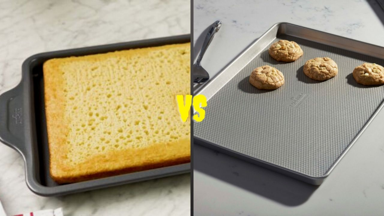 Jelly Roll Pan VS Cookie Sheet