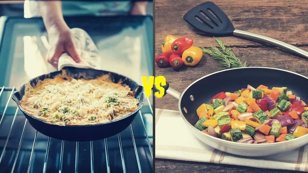 Skillet VS Frying Pan