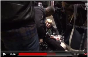 78-yr old knocked down at Occupy D.C.