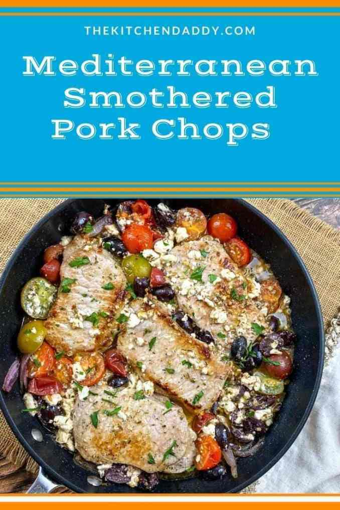 Mediterranean Smothered Pork Chops