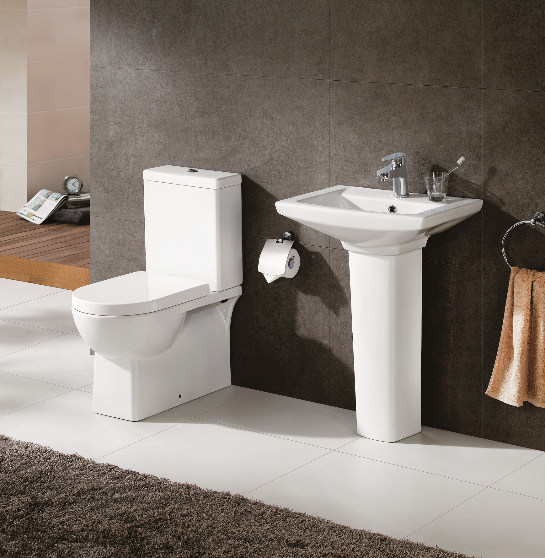 Kirby Sebastian launches contemporary new bathroom suite   Toyko Suite smaller