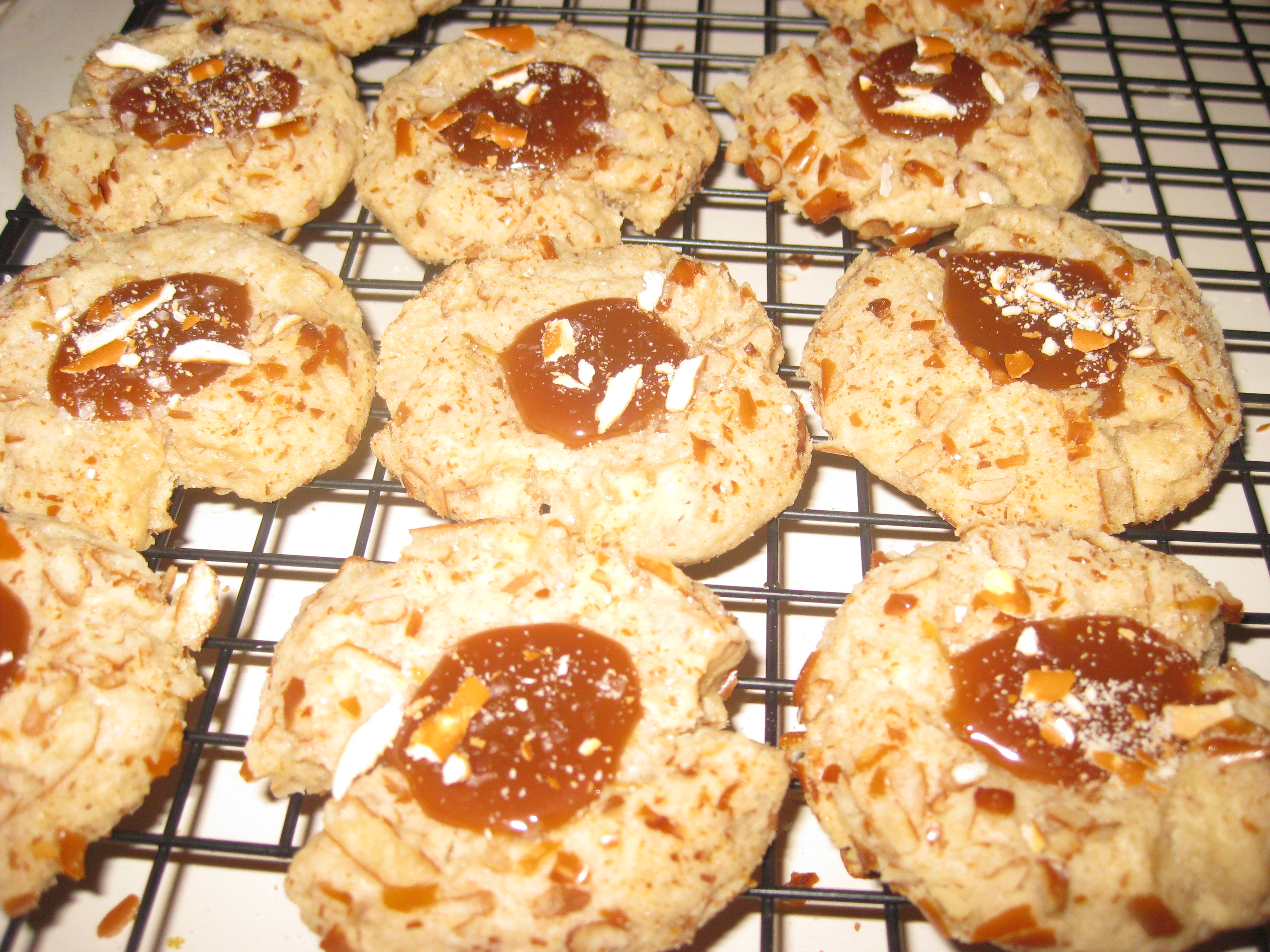 Salted Caramel Pretzel Cookies Food Network