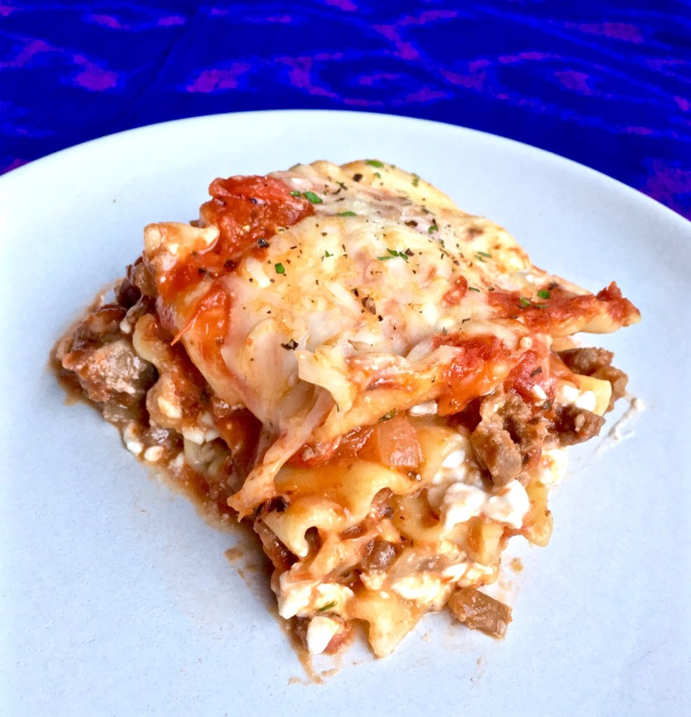 Quick + Easy Lasagna