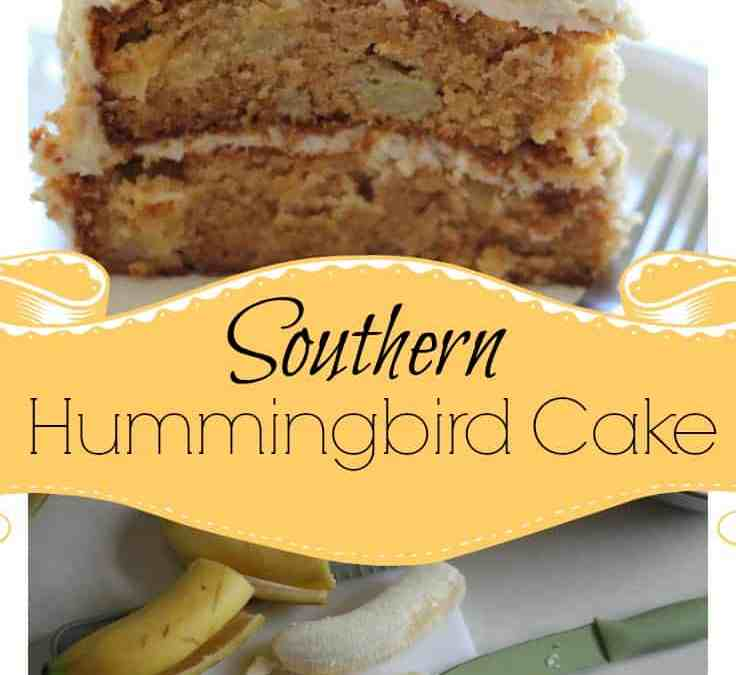 Sweet Southern Hummingbird Cake