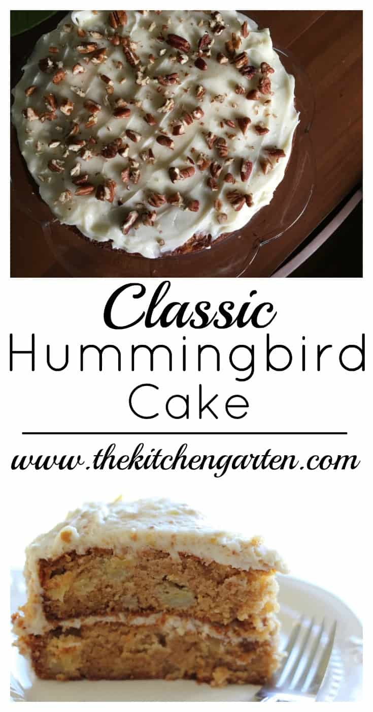 Classic Southern Hummingbird Cake is a simple and easy dessert that looks impressive at any family dinner or celebration!
