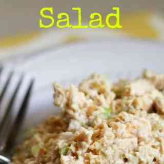 Simple Roasted Chicken Salad