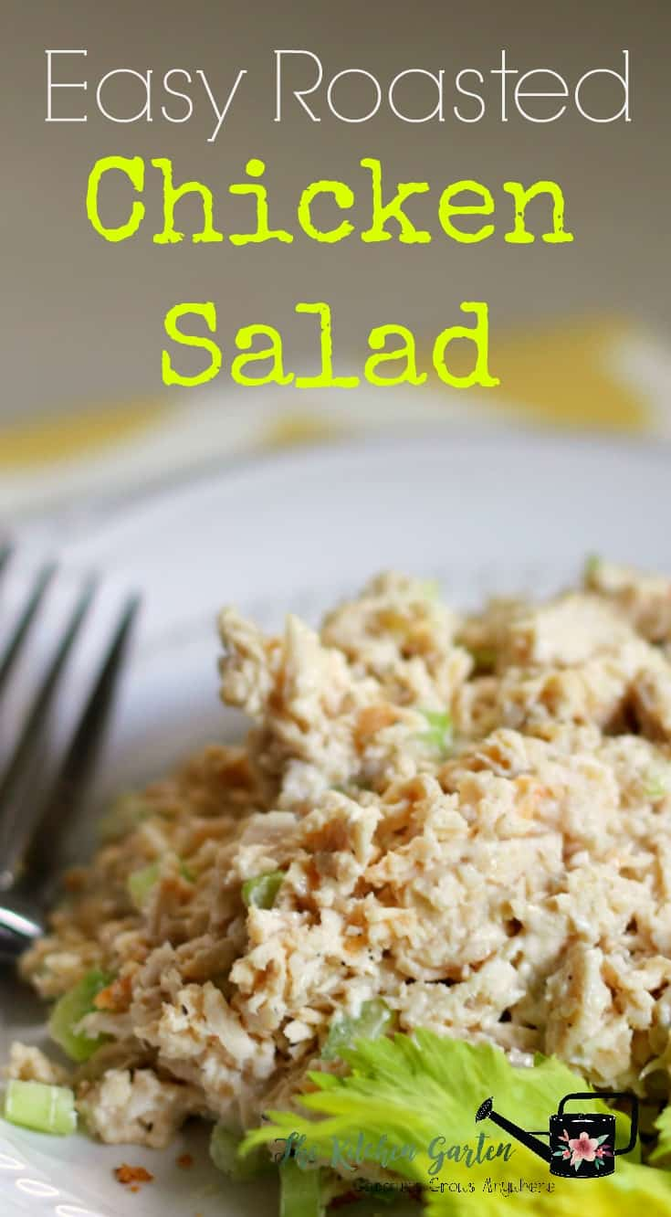 Do you love the roasted chicken salad from The Fresh Market? Me too! But save your money and make this easy chicken salad at home for a fraction of the cost! #chicken