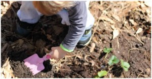 gardening with kids, the benefits of gardening with children