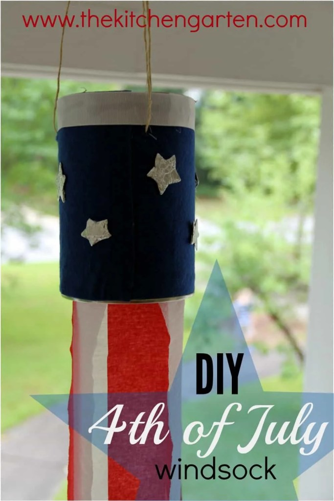 4th of July Windsock
