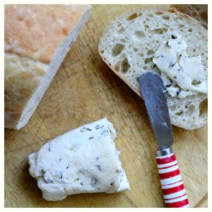Basil and Sage Butter (Compound Butter)