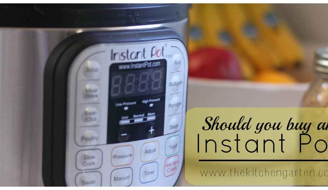 Is an Instant Pot Worth the Money?