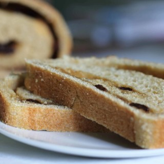 Whole Grain Cinnamon Raisin Bread