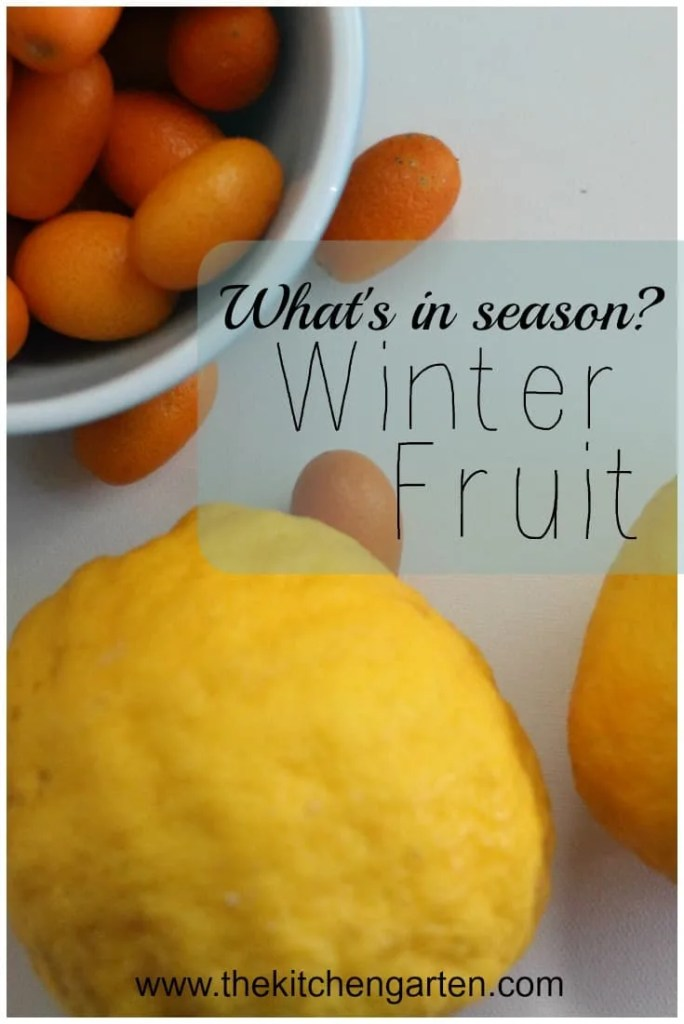 winter fruit