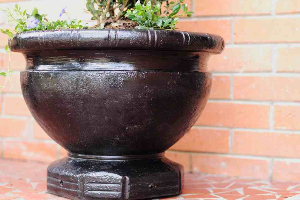 easy painted planter